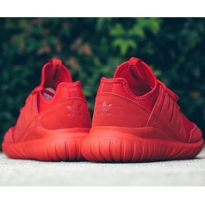 the latest 3e2d8 c84e8 adidas Shoes - Adidas Tubular Radial Shoes in 'Triple Red'